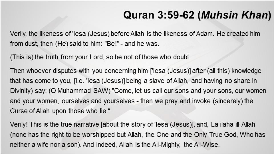 Quran 3
