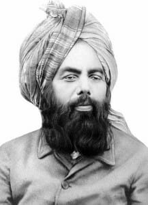 Photo of Mirza Ghulam Ahmad, founder of the Ahmadiyya Movement in Islam.