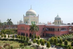 An image of the Darul Uloom Deoband Islamic school in India founded in 1866.
