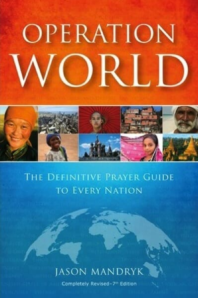 Cover of Operation World: The Definitive Prayer Guide to Every Nation (7th Edition)