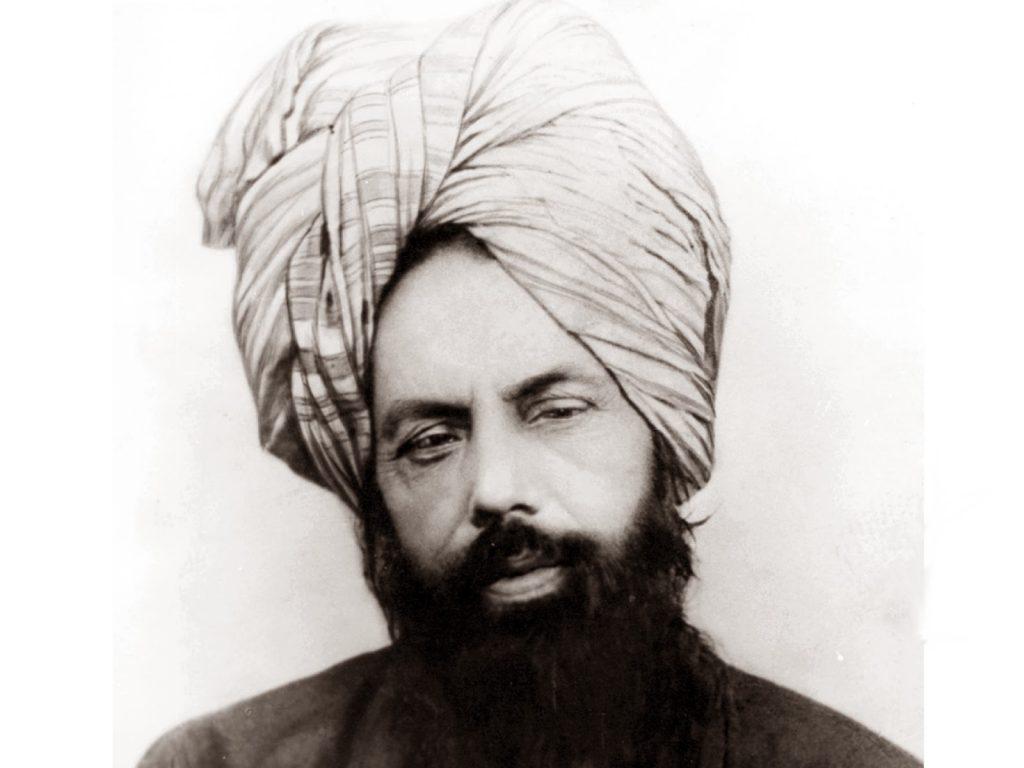 Potret Mirza Ghulam Ahmad (1835-1908)