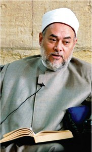Sheikh Ali Gomaa is the Grand Mufti of the Arab Republic of Egypt.