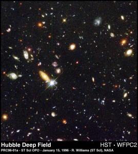 Hubble Deep Field Photo