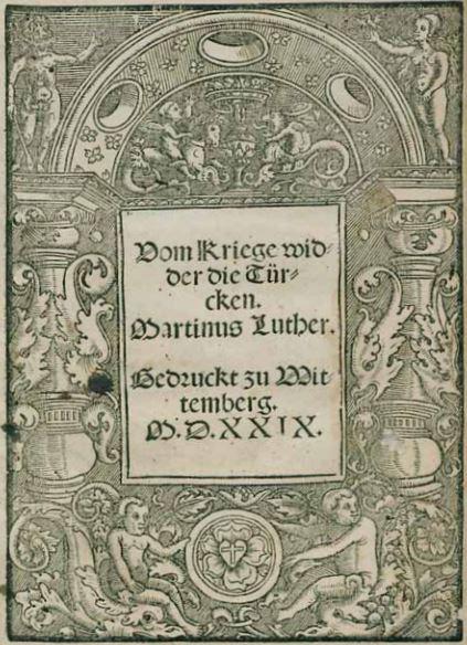 """On war against the Turk, 1528"