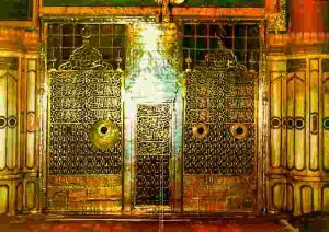 Gate of Prophet Muhammad's Tomb